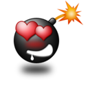 128x128px size png icon of Love Smile