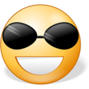 128x128px size png icon of Cool
