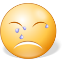 128x128px size png icon of Crying