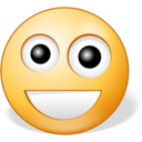 128x128px size png icon of Happy