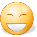 128x128px size png icon of Laughing