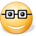 128x128px size png icon of Nerd