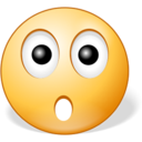 128x128px size png icon of Surprised