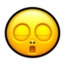 128x128px size png icon of Smiley bored