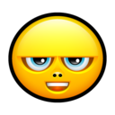 128x128px size png icon of Smiley complain 2