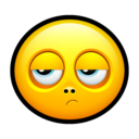 128x128px size png icon of Smiley disappointed