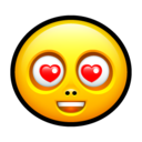 Smiley love Icon