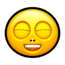 128x128px size png icon of Smiley rofl