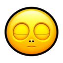 128x128px size png icon of Smiley sleep