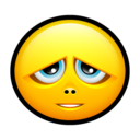 128x128px size png icon of Smiley sorry