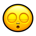 128x128px size png icon of Smiley zzz