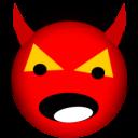 128x128px size png icon of satan devil