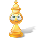 128x128px size png icon of King Chess
