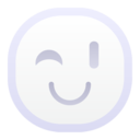 128x128px size png icon of wink 256x256