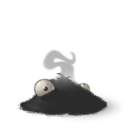 128x128px size png icon of Burnt
