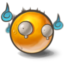 128x128px size png icon of Scared