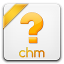 128x128px size png icon of chm
