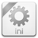 128x128px size png icon of ini