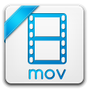 128x128px size png icon of mov