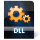 128x128px size png icon of Dll File
