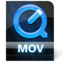 128x128px size png icon of Mov File