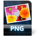 128x128px size png icon of Png File