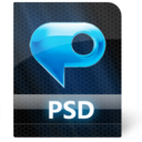 128x128px size png icon of Psd File
