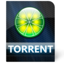 128x128px size png icon of Torrent File