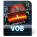 128x128px size png icon of Vob File