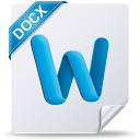 128x128px size png icon of docx mac