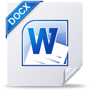 128x128px size png icon of docx win