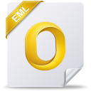 128x128px size png icon of eml