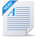 128x128px size png icon of readme