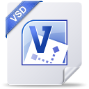 128x128px size png icon of vsd