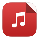 128x128px size png icon of mp3