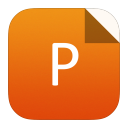 128x128px size png icon of ppt
