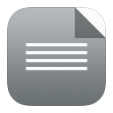 128x128px size png icon of txt