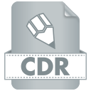 128x128px size png icon of Filetype CDR