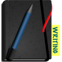 128x128px size png icon of Writing Journal