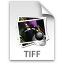 128x128px size png icon of TIFF