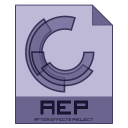128x128px size png icon of aep