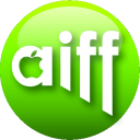 128x128px size png icon of AIFF green