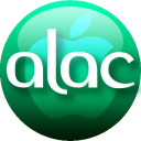 128x128px size png icon of ALAC emerald