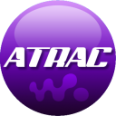 128x128px size png icon of ATRAC purple
