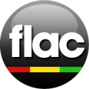 128x128px size png icon of FLAC black