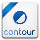 128x128px size png icon of contour