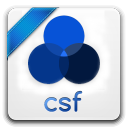 128x128px size png icon of csf