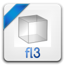 128x128px size png icon of fl 3