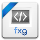 128x128px size png icon of fxg