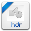 128x128px size png icon of hdr